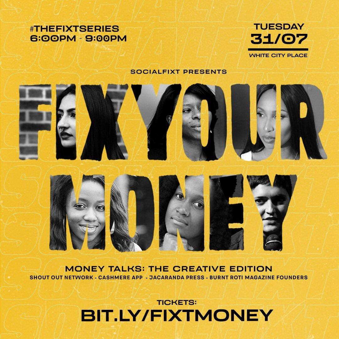 SocialFixt presents FIX YOUR MONEY Feature Image