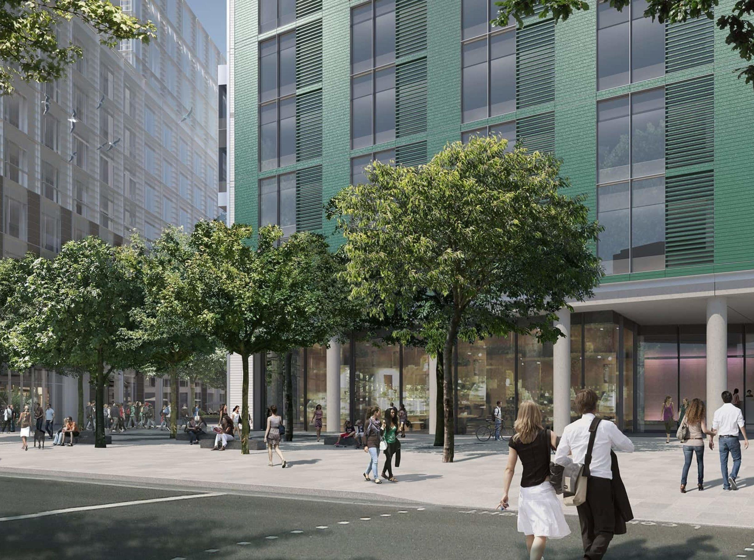 AAM001 White City Place view01b Wood Lane progress03 Alex Morris